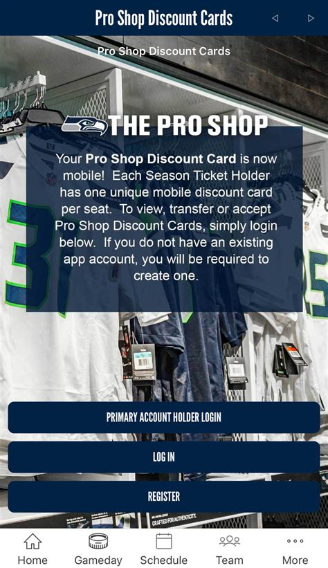 yinzcam seattle seahawks introduce mobile discount card