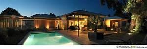 maison en bois contemporaine maison avec baie vitree a With maison bois avec piscine