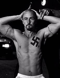 Edward Norton in American History X, directed by Tony Kaye ...