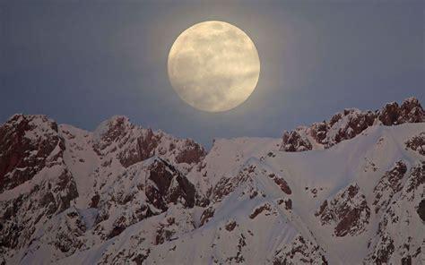 February full moon 2020: A (sort of) 'super' Snow Moon