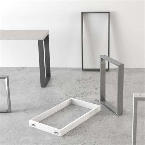 pied de table de cuisine pied de table traineau de cuisine hauteur 73 88 ou 108 cm
