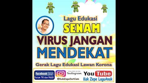 """Senam anak ceria dunia anak senam,senam anak,senam irama,senam anak tk,anak tk,tk,paud,senam sehat,senam. SENAM """"VIRUS JANGAN MENDEKAT"""" - Lagu anak Indonesia Tema ..."""
