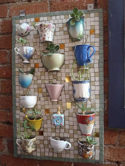magnificent diy mosaic garden decorations   inspiration
