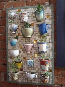 21, magnificent, diy, mosaic, garden, decorations, for, your, inspiration