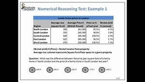 Numerical Reasoning Test Tutorial