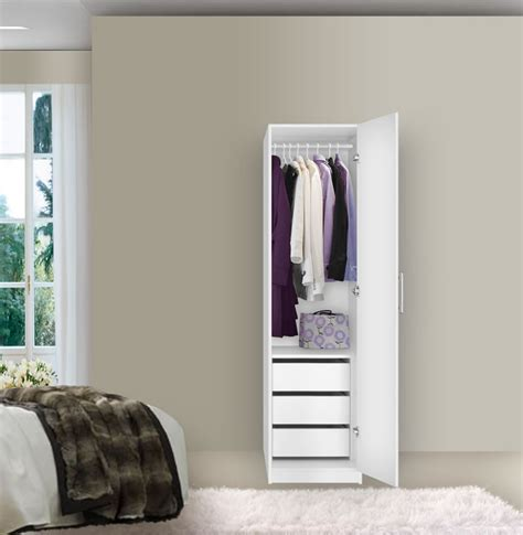 Thin Single Wardrobe by Wardrobe Closet Narrow Wardrobe Closet