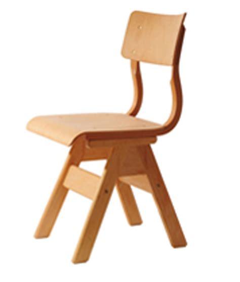 Massivholzstuhl Für Schulen, Holzstuhl Für Die Schule