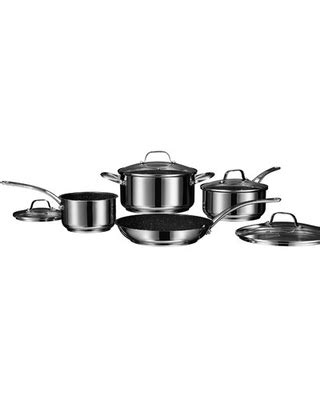 dont  sales  starfrit  piece stainless steel  stick cookware set starfrit