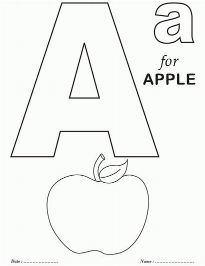 Coloring Alphabet Printable Pages Whole Popular