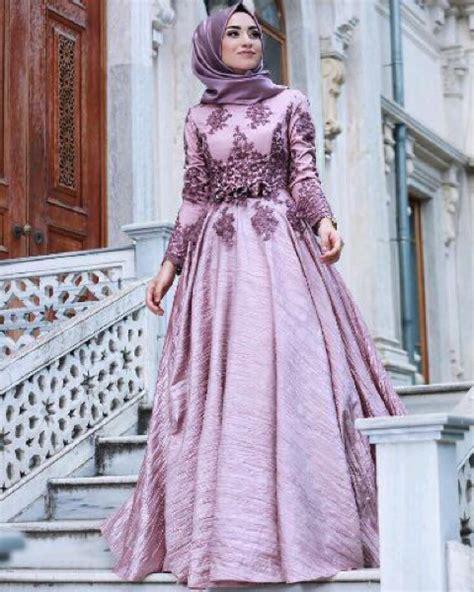 model baju gamis long dress muslim pesta modern terbaru ryn fashion