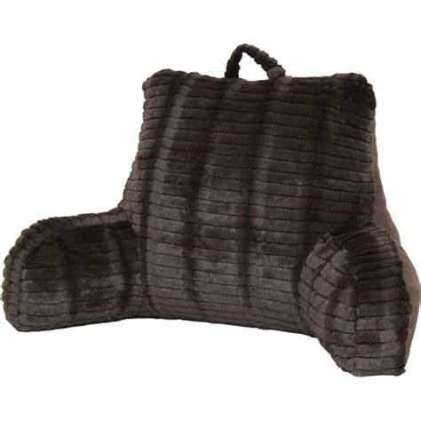 backrest pillow walmart better homes and gardens cut fur backrest with suede back