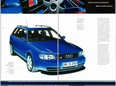 1996 and 1997 Model Year MY UK UrS6 Features and Options
