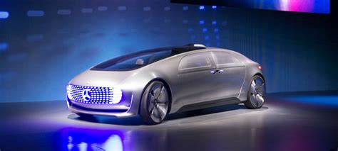 The New Mercedes Self-driving Car Concept Is Packed Full