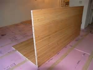 how to install a sing wood floor non warping patented honeycomb panels and door cores