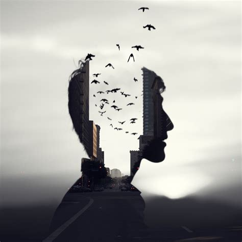 amazing examples  double exposure photography