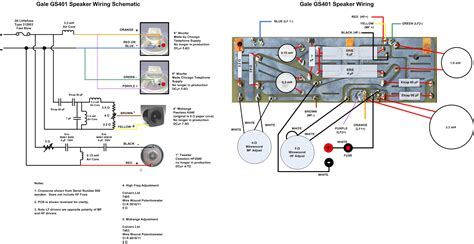speaker crossover wiring diagram get free image about