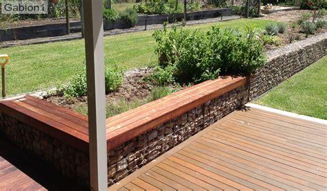 low retaining wall low gabion wall with timber seating http www gabion1 com gabion ideas pinterest gabion