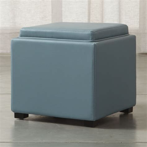 cube ottoman with tray storage cube ottoman image of storage ottoman cube small