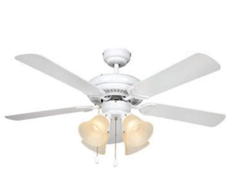 Ceiling Fans At Menards by Turn Of The Century 174 Minerva 44in White Ceiling Fan At