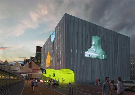 soar  mvrdvs competition winning zaanstad cultural center design archdaily