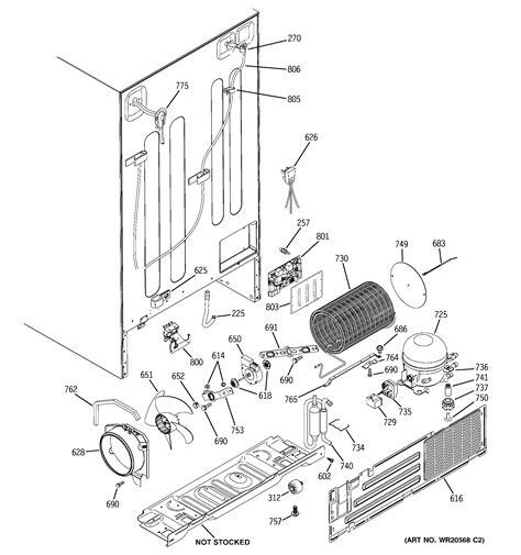 ge refrigerator schematic diagram wiring