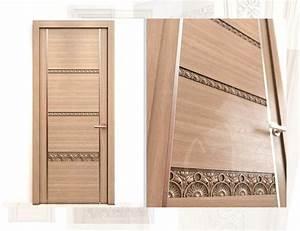 Porte En Bois Intérieur : portes int rieurs sculpt es con porte interieur bois ~ Dailycaller-alerts.com Idées de Décoration