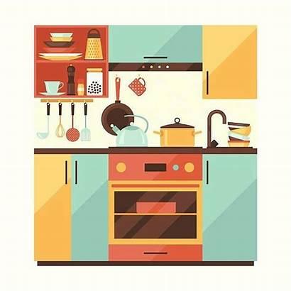 Kitchen Clipart Furniture Transparent Clip Intended Webstockreview
