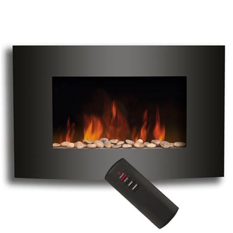 2014 version led bulb electric fireplace with pebble