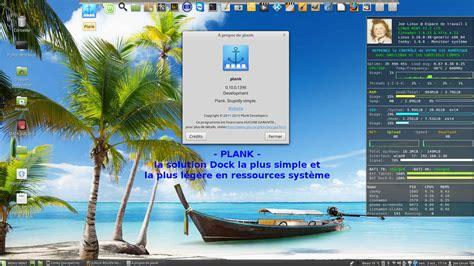 bureau cinnamon docks pour bureaux gnu linux linux rouen normandie