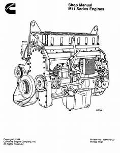 Cummins M11 Series Shop Manual
