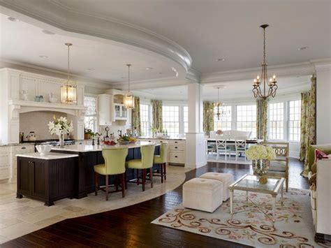 beautiful kitchen tile transition  wood floor works