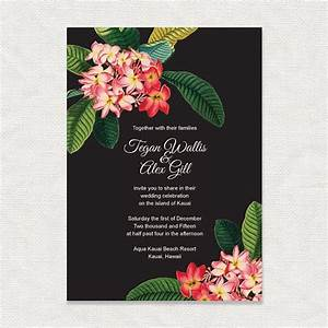 52 best frangipani images on pinterest natural skin care With tropical wedding invitations australia