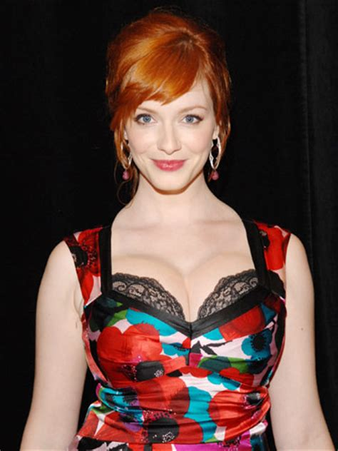 christina hendricks copper red hair   hair