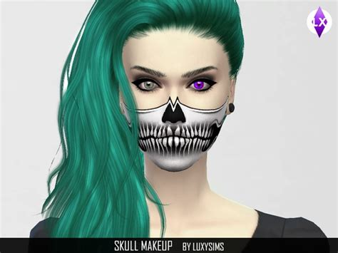 Kitchen Dining Room Paint Colors by Skull Makeup By Luxysims3 At Tsr 187 Sims 4 Updates