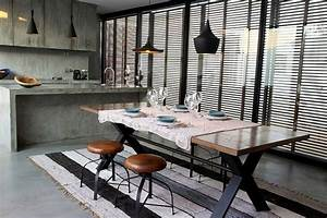 10 Dramatic Industrial Dining Room Interior Design Ideas ...