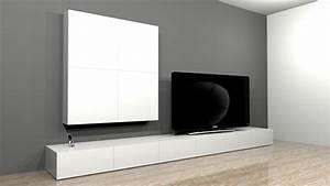 Projet De Cration De Mobilier Contemporain Banc TV