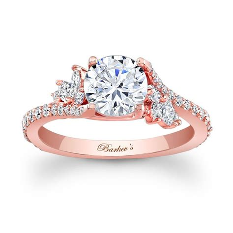 barkev s rose gold engagement ring 7908lpw