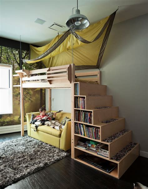 Design Loft Bed by 20 Great Loft Bed Design Ideas For Small Bedrooms