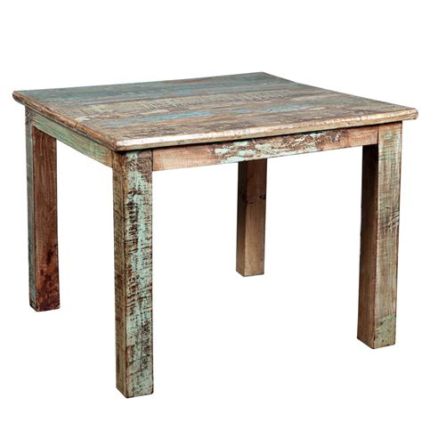 rustic wood table ls rustic reclaimed wood distressed small kitchen dining table