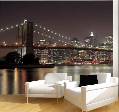papier peint york pour chambre une vue sur york sur le mur du salon avec le papier