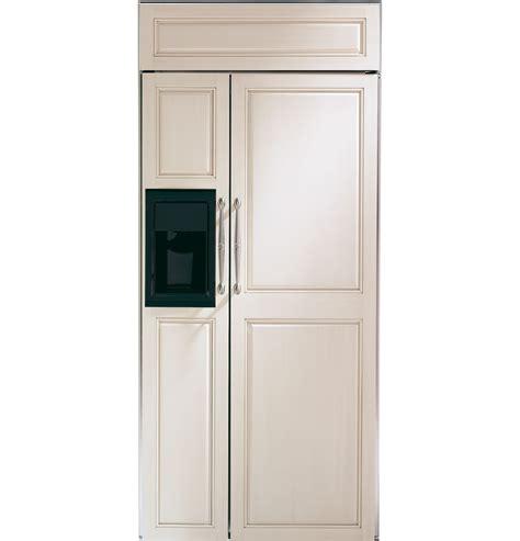 zisbdx ge monogram  built  side  side refrigerator  dispenser  monogram