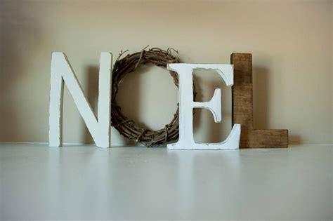 decorative christmas letters noel letters decor mantle decor gift