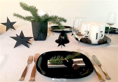 Schwarz Weiß Tischdeko by Weihnachtliche Tischdeko In Schwarz Wei 223 Ist Puristisch