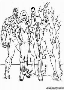 Fantastic Four7 Printable Coloring Pages