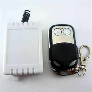 Dc 12v Relay Wireless Remote Control Rf Switch On  Off