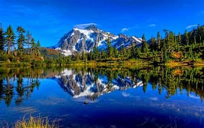 Lake Mountain Wallpapers Landscape Nature Desktop Hintergrundbilder