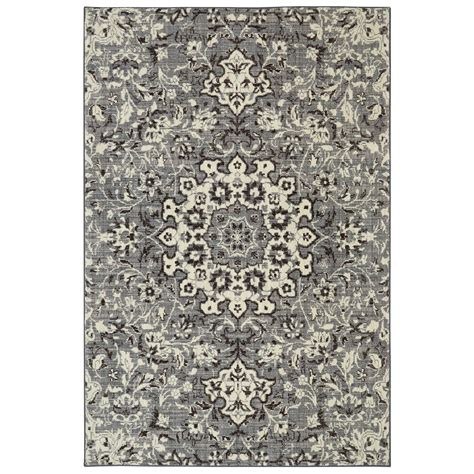 mohawk medallion rug mohawk grey medallion area rug 60 quot x 84 quot