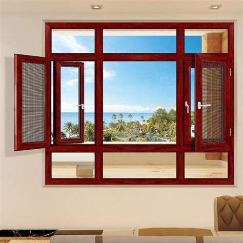 aluminum casement double glazed glass windows  nigeria
