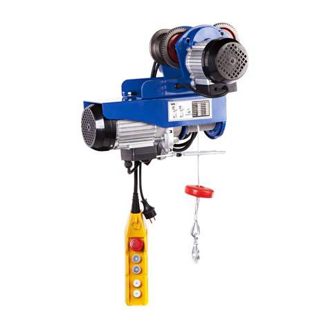 dispense macchine elettriche paranco elettrico 800 kg