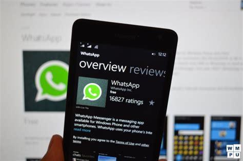 whatsapp beta con soporte para windows 10 mobile poderpda